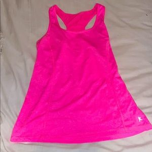 Pink Racerback Workout Tank